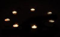 Свечи, образующие защитный круг, для ритуалов любовной магии и приворотов