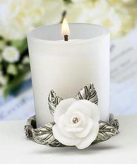 Белый приворот на свечу
