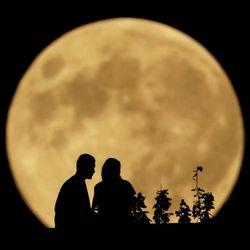 Полная луна - магия любви