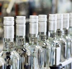 Бутылки водки для приворота